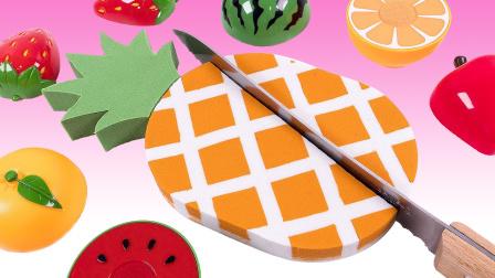 酸甜大菠萝蛋糕做起来一点也不难! 太空沙创意新玩法, 视频教程送给你!