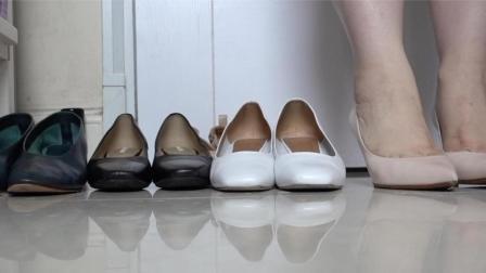 [UgU]大腳丫 腳板寬 肉腳的 (對腿和腳有潔癖的慎入)上班鞋子分享 shoes for work~~