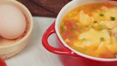 营养又美味的西红柿鸡蛋汤, 到底是先放西红柿还是先放鸡蛋? 你是怎么做的呢?