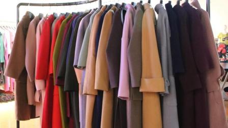时尚冬款双面羊绒大衣可挑款5件起批