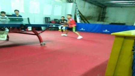 乒乓扣杀技术被他创新了, 板板过网(跳扣杀)