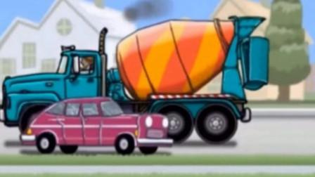 极速竞赛2【1-7关】 赛车总动员 挖掘机 推土机 大卡车 汽车总动员动画片中文版