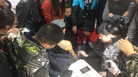 纹身培训现场第八天: 2016年10月强化班现场视频 青岛520TATTOO纹身教育机构