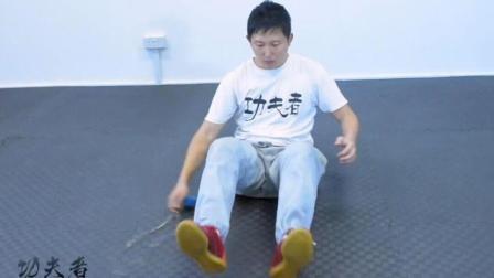九节鞭躺式扫地鞭教学, 托马斯全旋一般的炫酷