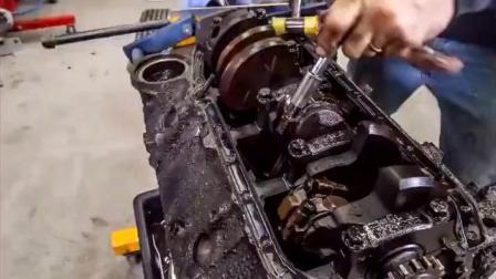 一台报废的发动机, 拆掉改装翻新后, 价值翻了100倍