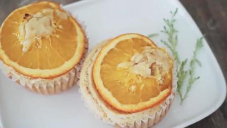 小清新酸甜香橙马芬蛋糕
