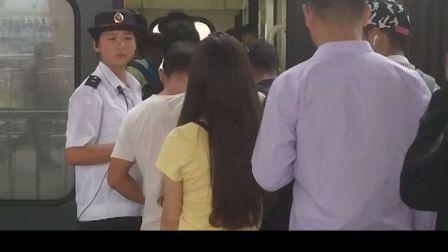 中国最美火车乘务员