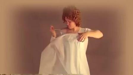 可爱妹子穿全套19世纪中期欧式常服, 束腰, 白丝, 高跟