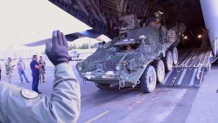 到俄罗斯家门口啦! 美国骑兵团装甲抵达格鲁吉亚