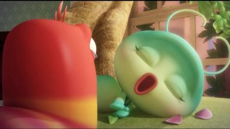 爆笑虫子: 红虫不要伤心, 绿孵就像幽灵一样永远跟你在一起