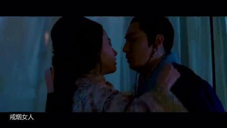 刘亦菲黑乎乎的夜晚跟老男人亲吻, 人生如戏!