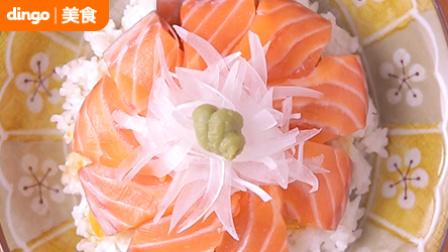 肥美的三文鱼生鱼片盖饭 是不是你的至爱 54