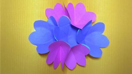 立体折纸手工 教你制作一张3D立体花朵贺卡
