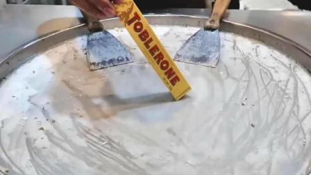 良心商家, 制作手工冰淇淋用的是卡夫的三角巧克力, 最好吃的巧克力之一