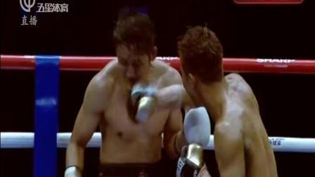 昨晚2017邹市明拳王卫冕战被赛前装怂的日本拳手木村翔击倒TKO落败痛失金腰带