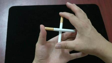 刘谦骗过了亿万观众眼睛的魔术, 香烟瞬间穿越, 看一遍就能学会