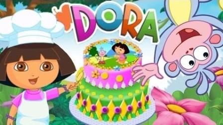 爱探险的朵拉历险记 朵拉的生日蛋糕