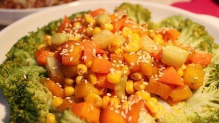 彩蔬西兰花的做法之美食生活