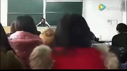 女大学生恶搞试卷, 老师当堂念出也是逗比没谁了