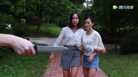 两美女小树林遭遇劫色