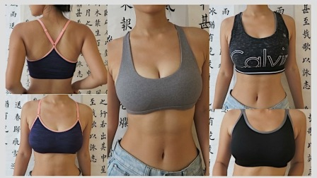 ♥xxoKate♥大胸如何选择合适的运动内衣 | try on