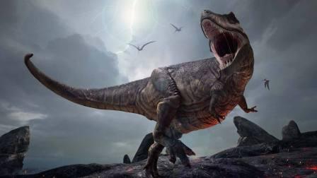 恐龙世界 霸王龙吃蛋糕