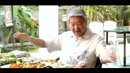 蔡澜泰国海鲜餐, 泰式咖喱蟹, 椒酱辣虾, 炸鱼, 最基础的食物最好吃