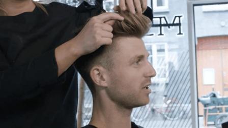 一款男生夏季短发帅气发型, 剪完帅哭了!