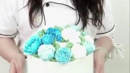 金领蛋糕培训学校, 蛋糕和女孩, 花儿朵朵开