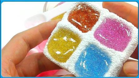 培乐多泡沫粘土制作四色饼干 创意DIY卡通玩具趣味手工 小猪佩奇 奥特曼 汪汪队立大功
