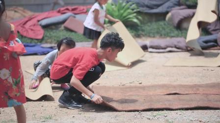 不一样的假期生活: 寺庙小义工, 鼓励每一个孩子的善举!