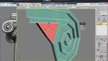 3dmax入门到精通之欧式罗马柱建模教程, 柱头叶片制作原理