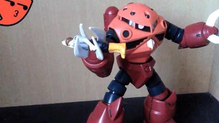 萝卜吐槽番外-模玩分享MG夏亚专用红魔蟹