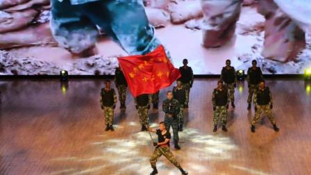 """沙雅县""""庆祝中国人民解放军建军90周年"""", 重塑边疆情"""