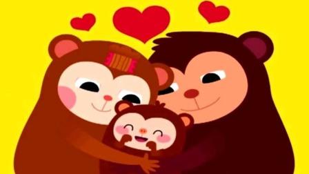 《碰碰狐》123数字游戏 02 猴子吃香蕉 学数学 学前儿童教育 亲子互动 益智游戏 早教游戏