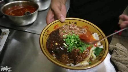 吃完西安特色面食biangbiang面, 再来点小酥肉, 吃货的心满足了