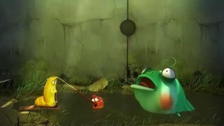 《爆笑虫子》小黄和小红沼泽遇险, 且看他们如何
