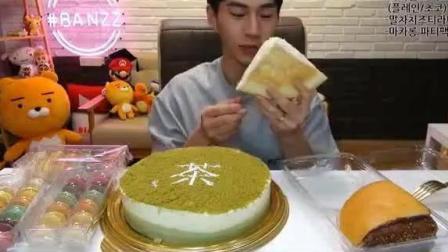 大胃王奔驰小哥吃蛋糕、甜点