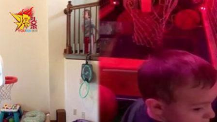 美国两岁宝宝, 展现超凡的投篮天赋