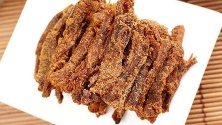 电饭锅就能做的牛肉干, 无添加的健康小零食, 好吃到停不下来