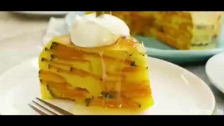 吃南瓜的季节到了! 分享个南瓜牛奶杏仁蛋糕, 电饭煲就能做