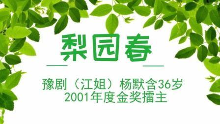 豫剧(江姐)杨默含36岁 2001年度金奖擂主 梨园春