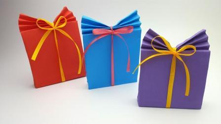 手工DIY简单又漂亮的礼盒礼品袋