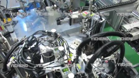 人工替代机械化时代-Y062风扇自动组立机