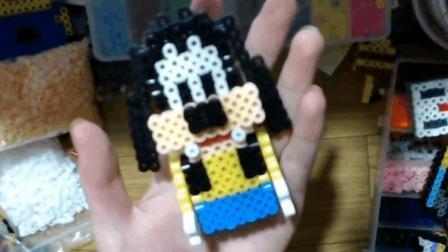 小民-10: 创意拼豆DIY-高飞狗-立体版