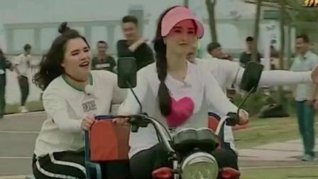 《范冰冰骑三轮车载张杰, 村姑范儿妥妥的》韩庚开破面包车搞笑登场