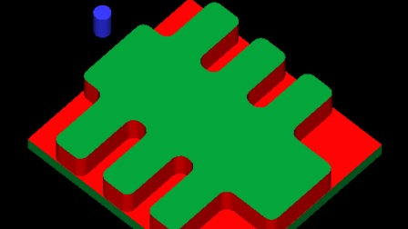 MasterCAM9.1 如何提高外形铣加工效率的方法