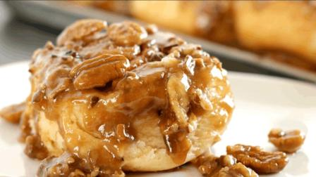 焦糖山核桃肉桂卷美味易学, 吃货们的福利