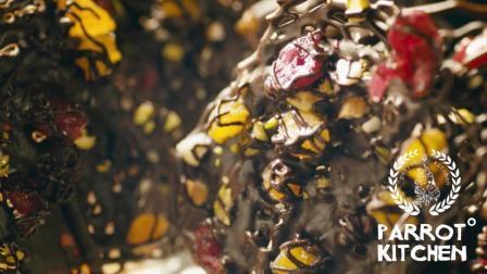 【鹦鹉迷你厨】没有糖也能做的坚果巧克力棒棒糖