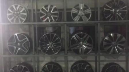 实拍平行进口路虎奔驰等车型原装轮毂各种型号